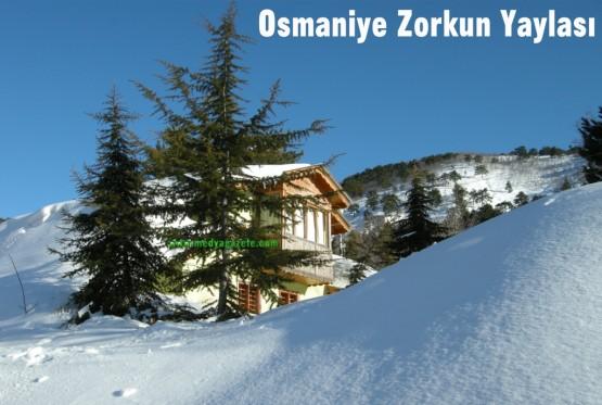 Osmaniye Zorkun Yaylası Görüntüleri