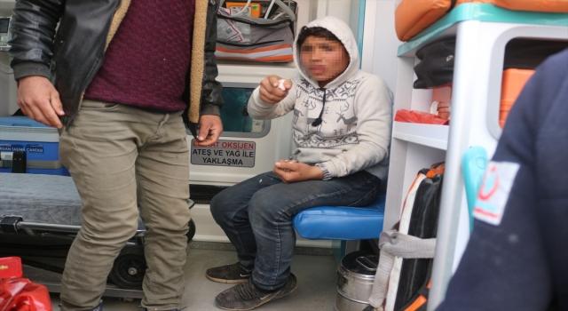 Adana'da atık kağıt toplayıcısı çocuğu bıçakla yaralayan zanlı yakalandı
