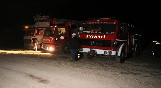 Isparta'da Kovada Milli Parkı'nda ormanlık alanda çıkan yangın söndürüldü