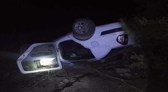 Antalya'da otomobilin şarampole devrildiği kazada 1 kişi öldü