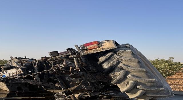 Hafif ticari araç ile traktör çarpıştı, 1 kişi öldü