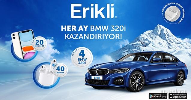 Erikli'nin BMW 320i kazandıran kampanyasına yoğun ilgi