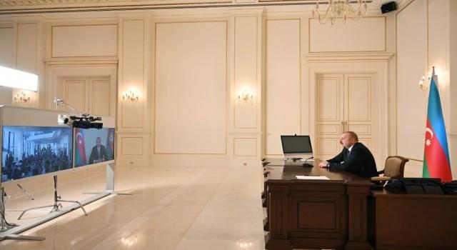 Aliyev: Türk firmaları 10 milyar doları aşan projelerde yer aldı