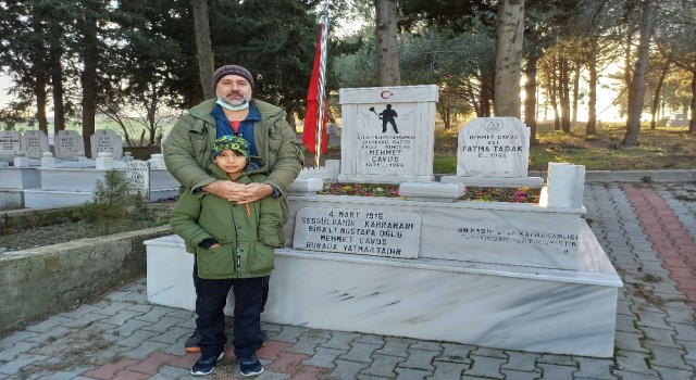 Bigalı Mehmet Çavuşu oynayan Orhan Kılıçtan anlamlı ziyaret