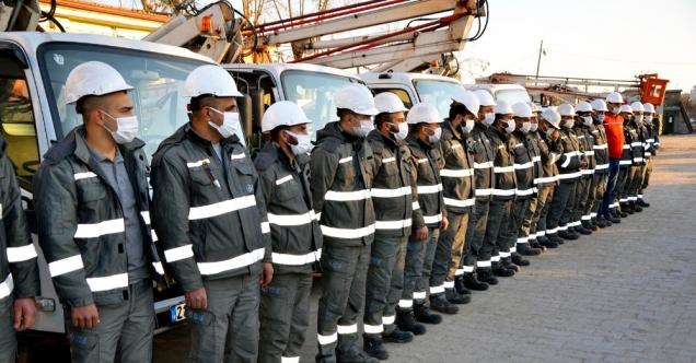 Dicle Elektrik ekipleri 'soğuk hava' alarmına geçti