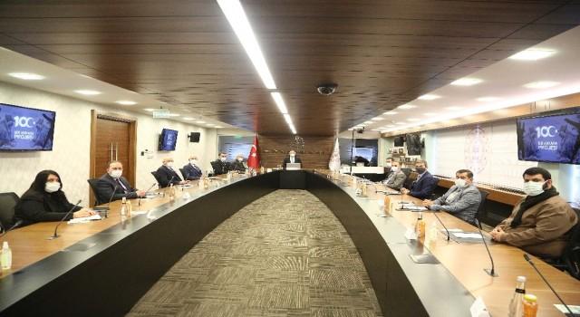 ATO heyetinden Kültür ve Turizm Bakanı Ersoya ziyaret