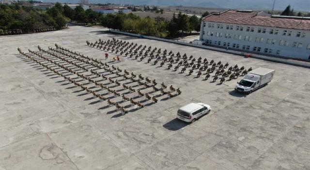 Karabükte 606 Mehmetçikten Türk Kızılayına kan bağışı