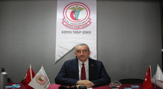"""Konya Tabip Odası Başkanı Çetin: """"Şehrimize giriş ve çıkışların HES koduyla yapılmasını istiyoruz"""