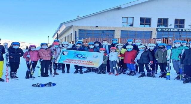 Sivas Gürün'de kayak bilmeyen kalmayacak