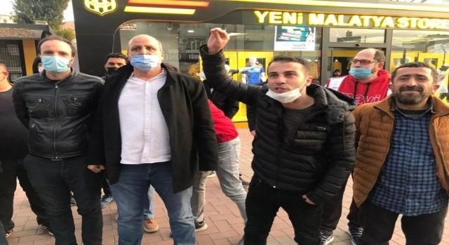 Yeni Malatyaspor mağlubiyeti taraftarı sokağa döktü