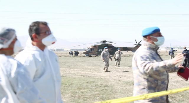 Konyada düşen uçağın pilotu Yüzbaşı Burak Genççelebi şehit oldu