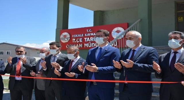 Aşkalede İlçe Tarım ve Orman Müdürlüğü yeni hizmet binası açıldı