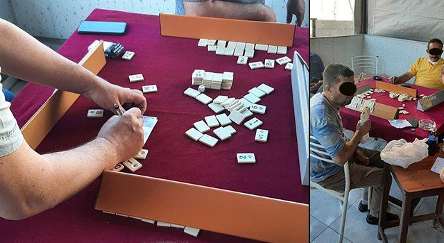 Osmaniye'de kumar oynayan ve Kovid19 tedbirlerini ihlal eden 8 kişiye para cezası verildi
