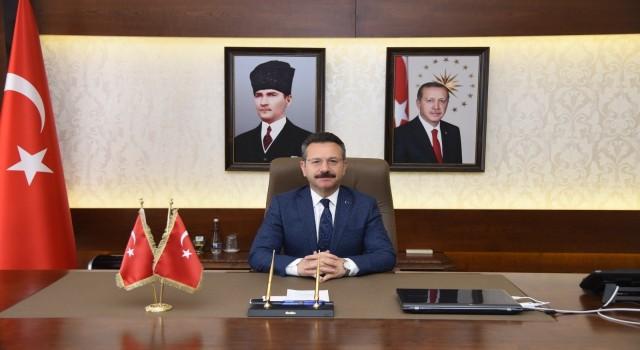 Aydın Valisi Aksoyun Sahil Güvenlik Komutanlığının Kuruluş Yıldönümü mesajı