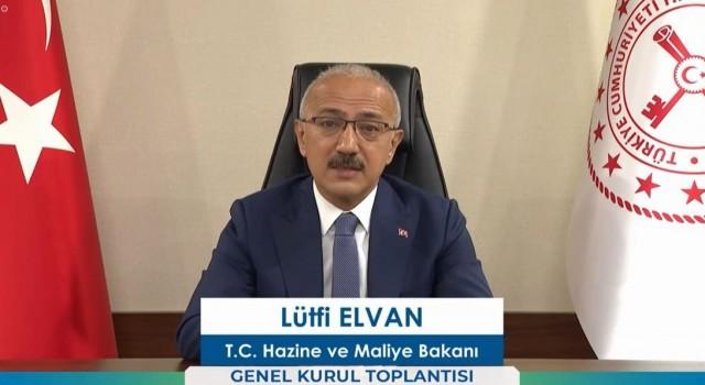 """Bakan Lütfi Elvan, """"Bireysel emeklilik şirketlerinin fon büyüklüğü 183 milyar lirayı aştı"""""""