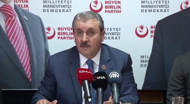 """Mustafa Destici: """"Hangi demokraside teröre müsaade var!"""""""