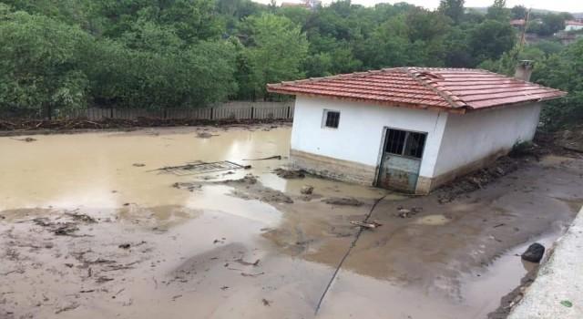 Boğazkaleyi yağış vurdu, tarım arazileri sular altında kaldı