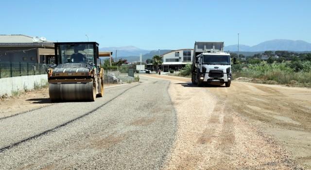 Çolaklı turizm merkezine sıcak asfalt çalışması