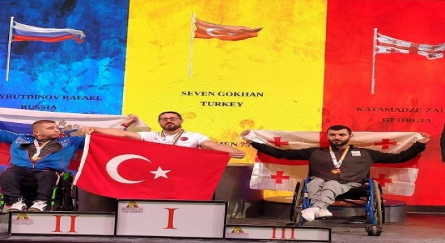 Gökhan Seven, Bilek Güreşi Dünya Şampiyonasına hazırlanıyor
