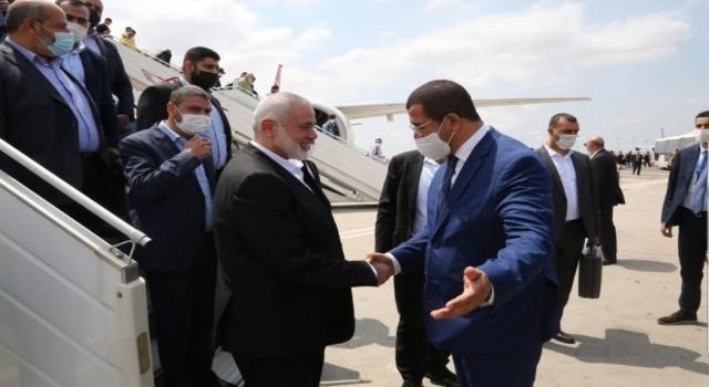 Hamas lideri Haniyeden Fas'a ziyaret