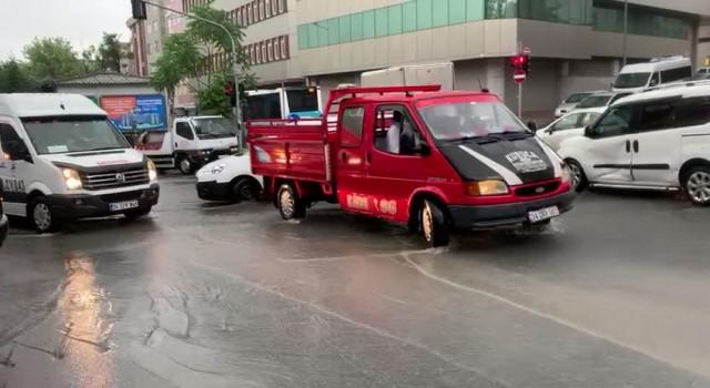 İstanbulda sağanak yağmur
