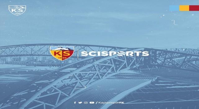 Kayserispor ve Scisports iş birliği yaptı