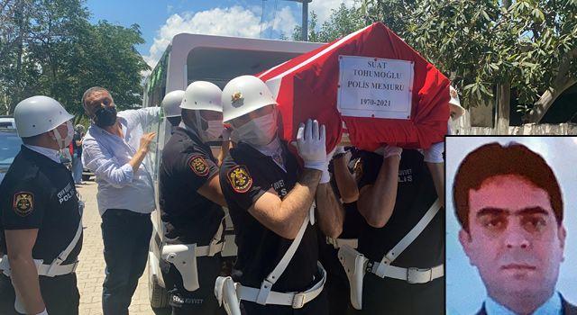 Kazada ölen polis memuru için Osmaniye'de tören düzenlendi