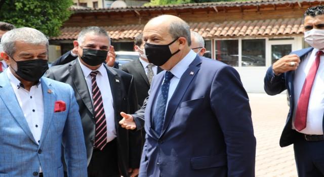 """Cumhurbaşkanı Tatar: """"Türkiye ile bağımızın koparılmasına asla müsaade etmeyiz"""""""