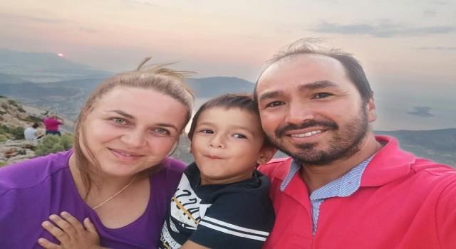 Antalyada yürekleri yakan ölüm