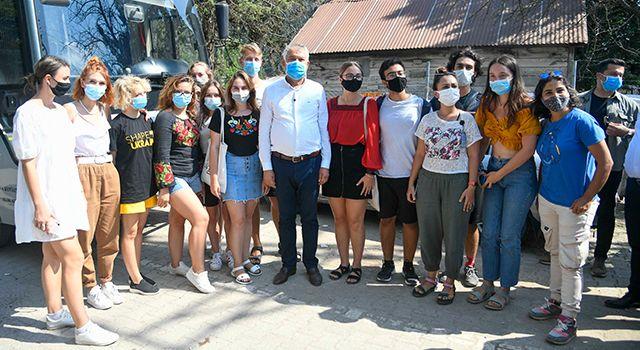 7 ülkeden 22 öğrenci Adana'yı keşfetti