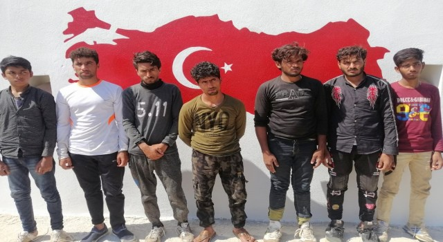Osmaniyede 7 yabancı uyruklu yakalandı