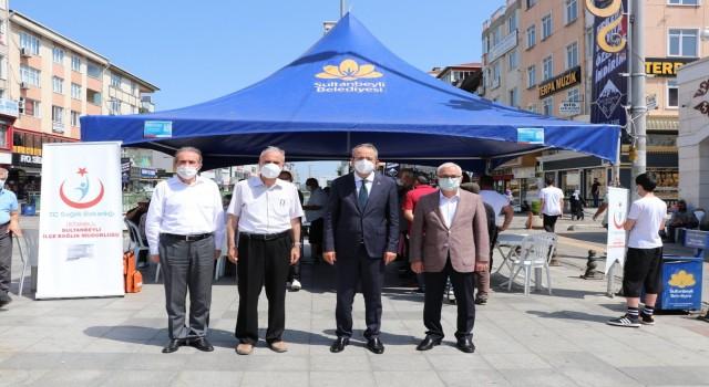 Sultanbeylide Aşılama Seferberliği: 3 günde 11 bin 552 kişi aşılandı