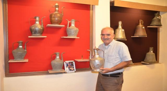 """Antalyada """"Kullanılmış Bakır Kap Müzesi"""" açıldı"""