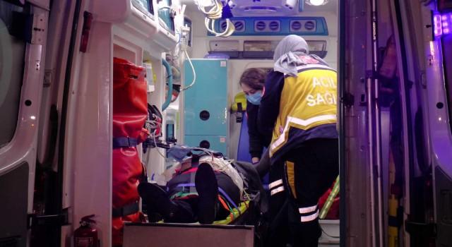Ataşehir Temde feci kaza: 2 yaralı