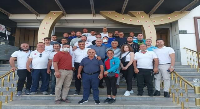Balıkesirde Güreş İstişare Toplantısı yapıldı
