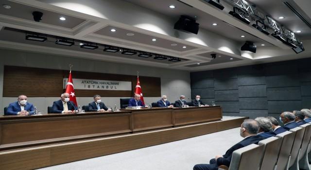 Cumhurbaşkanı Erdoğan: (Seçim Yasasında değişiklik) Meclis açıldığında uzatmadan Meclise göndereceğiz