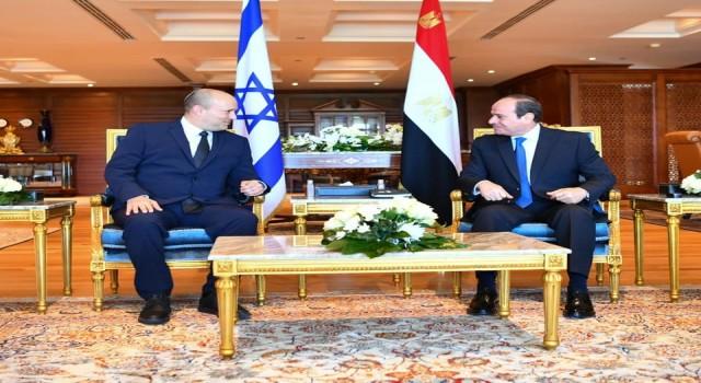 """İsrail Başbakanı Bennetttan Mısır değerlendirmesi: """"Derin bağların temellerini attık"""""""
