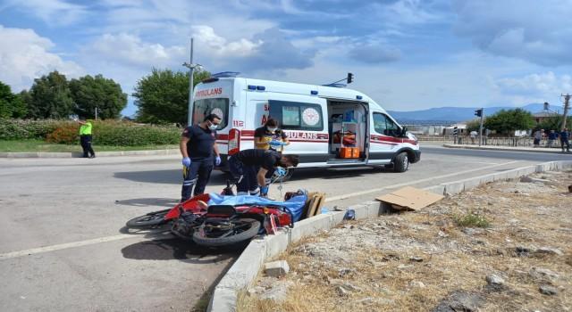 Kumlucada motosiklet kazası: 1 ölü
