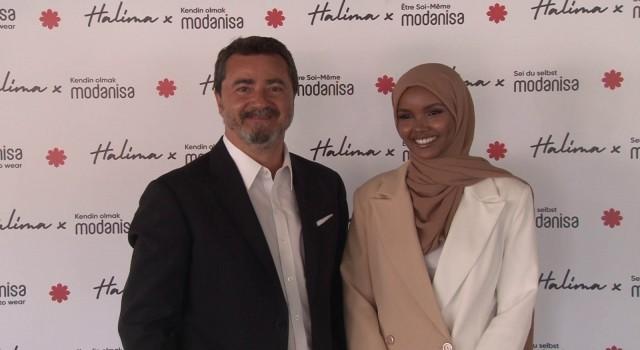 """Modanisa global mottosunu tüm dünyaya Halima Aden ile duyurdu: """"Kendin olmak Modanisa"""