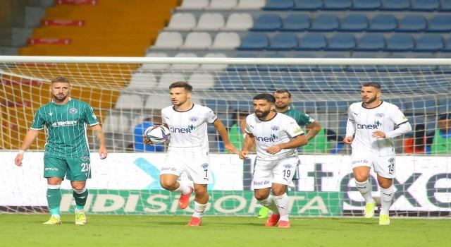 Süper Lig: Kasımpaşa: 1 - İH Konyaspor: 2 (İlk yarı)