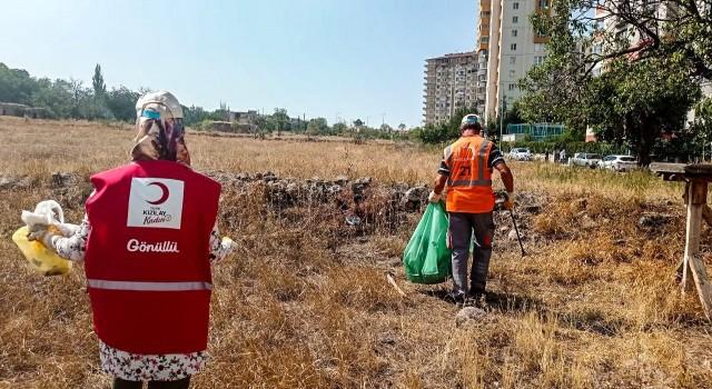 Talas Belediyesinden 'Dünya Temizlik Gününde anlamlı etkinlik