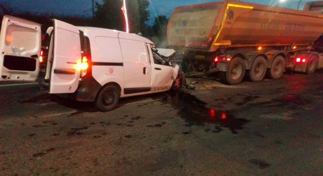 Tekirdağda trafik kazası: Uzman Çavuş hayatını kaybetti