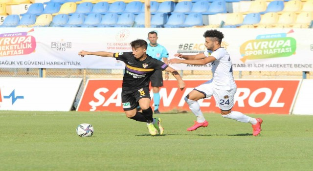 TFF 1. Lig: Menemenspor: 1 - Eyüpspor: 1
