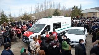 Astsubay Üstçavuş Nazmi Yılmaz, Kahramanmaraş'ta son yolculuğuna uğurlandı