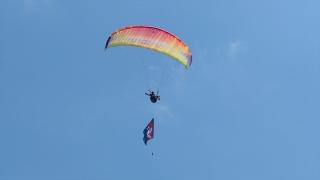 Hatay'da, Türkiye Yamaç Paraşütü Hedef Şampiyonası 3. Etap Yarışması sona erdi