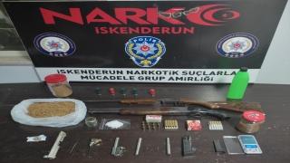 İskenderun'daki uyuşturucu operasyonunda 4 kişi gözaltına alındı