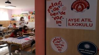 Adana'da öğrenciler okullarındaki etkinliklerle eğlenceli vakit geçiriyor