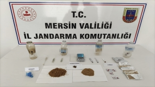 Mersin'de uyuşturucu operasyonunda 11 şüpheli yakalandı