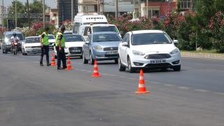 Mersin'de jandarma Kurban Bayramı tatilinde trafik denetimini artırdı