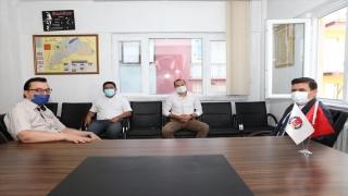 Vali Arslantaş'tan Burdur Gazeteciler Cemiyetine ziyaret